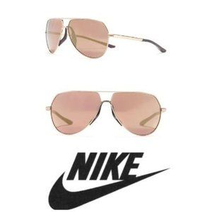 Nike Mens 62mm Mirrored Aviator Sunglasses NWT
